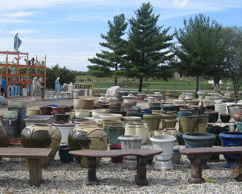 You are sure to find the perfect accent for you yard at the Rock Shop on Gotfredson.