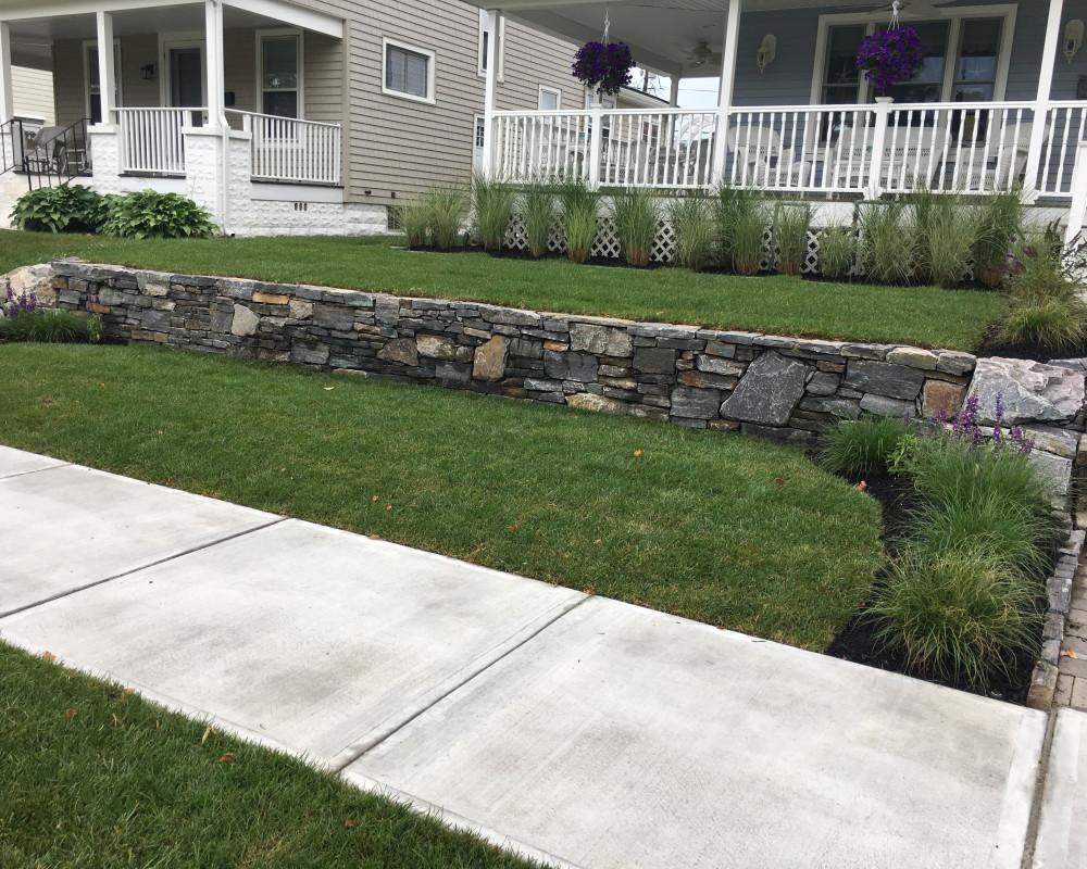Natural granite Wall