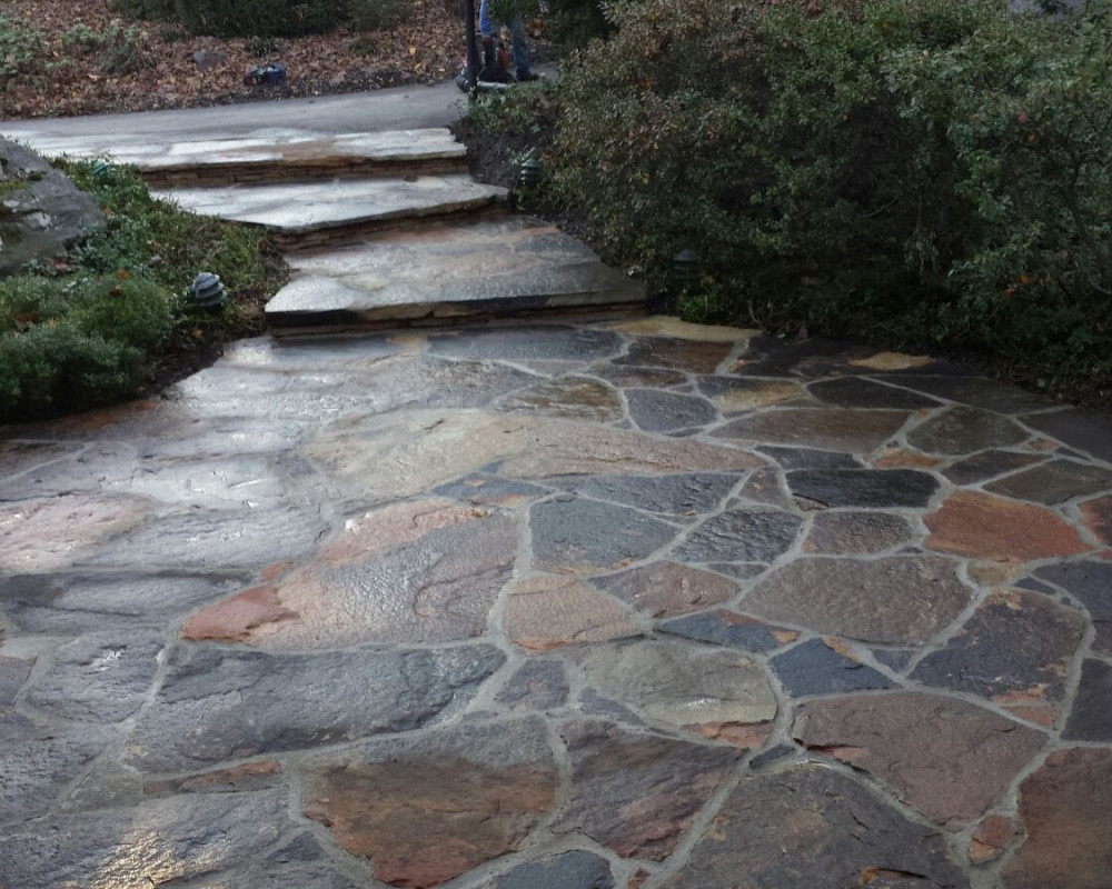 Custom Stone Work by ScapeWorx in Media, PA